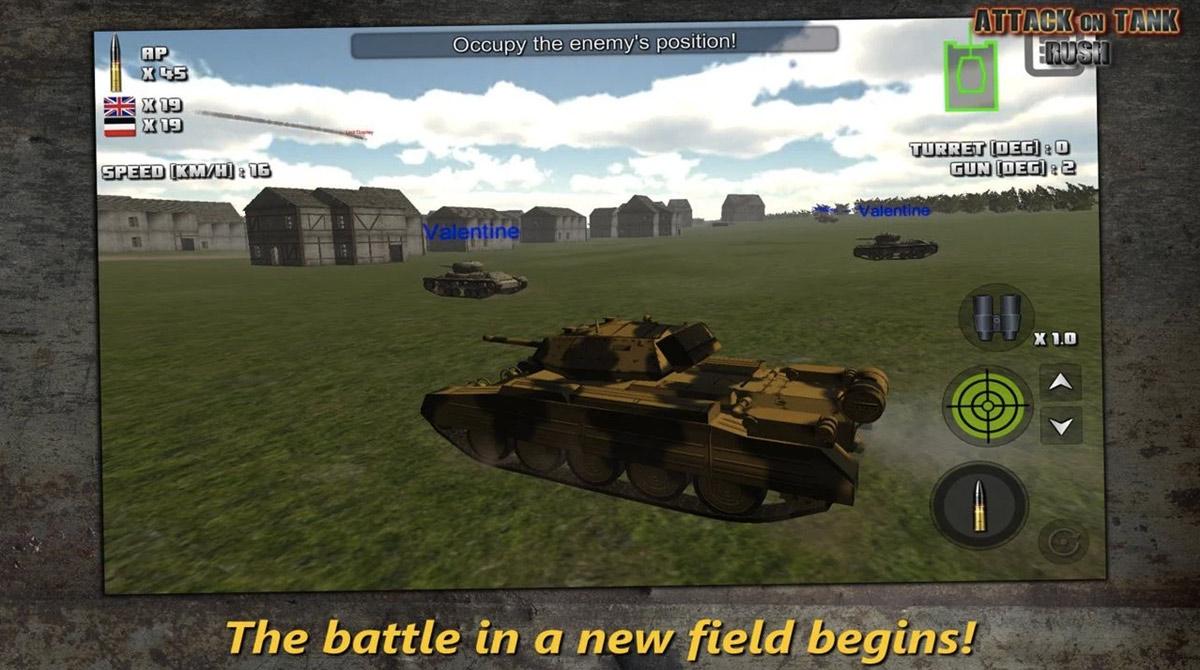 attack on tank new battlefield