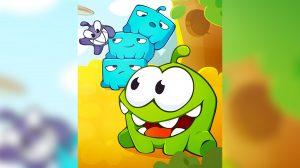 cuttherope2 blue cute monsters