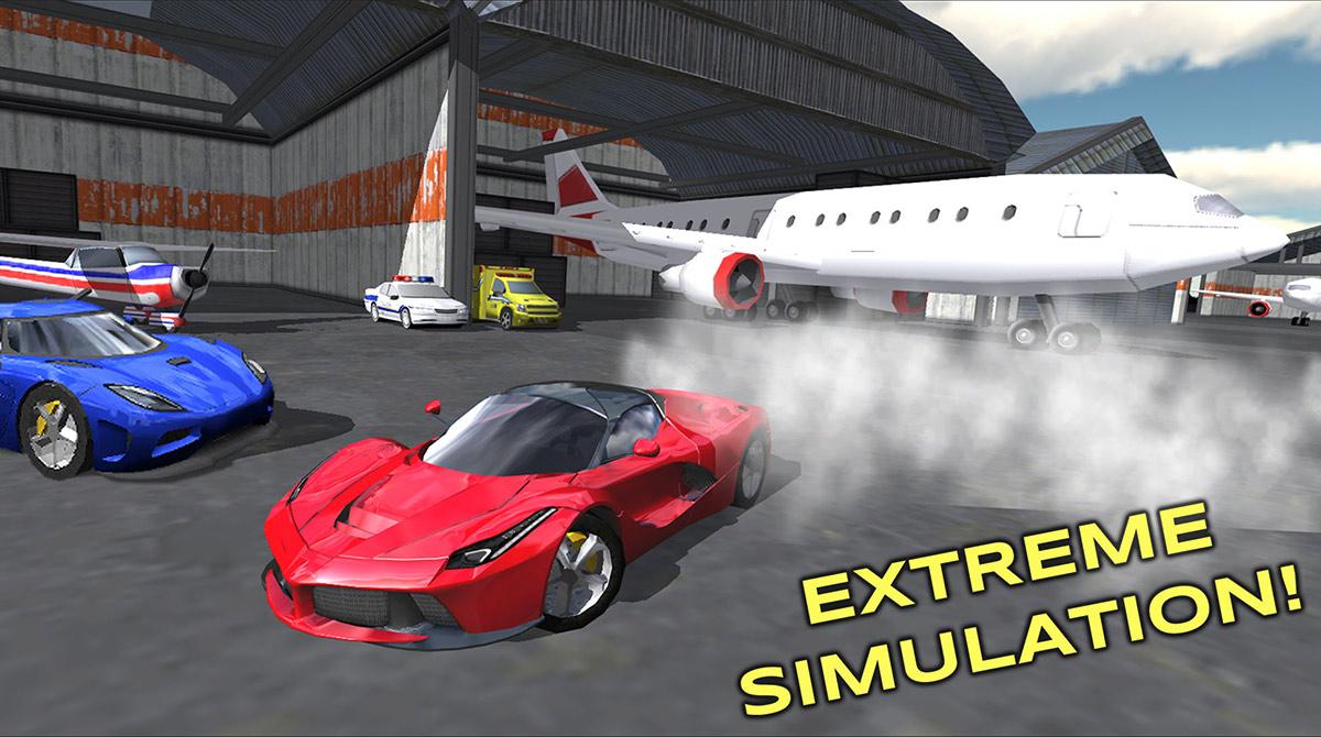 extreme car extreme simulation