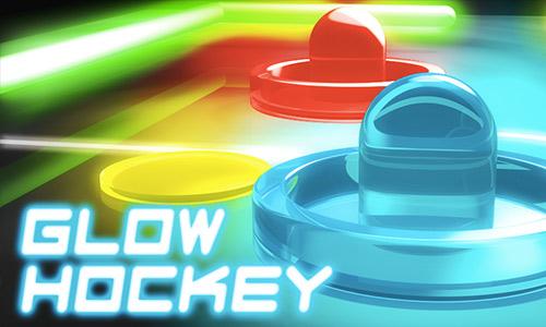 Play Glow Hockey on PC