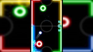 Glow Hockey Strike Neon Ball