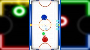 Glow Hockey Virtual Real Life Experience
