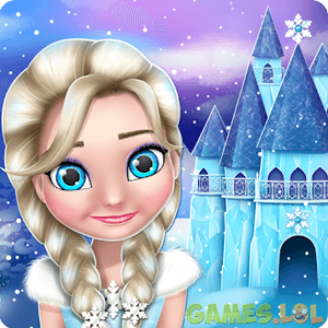 Play Ice Princess Doll House Games on PC