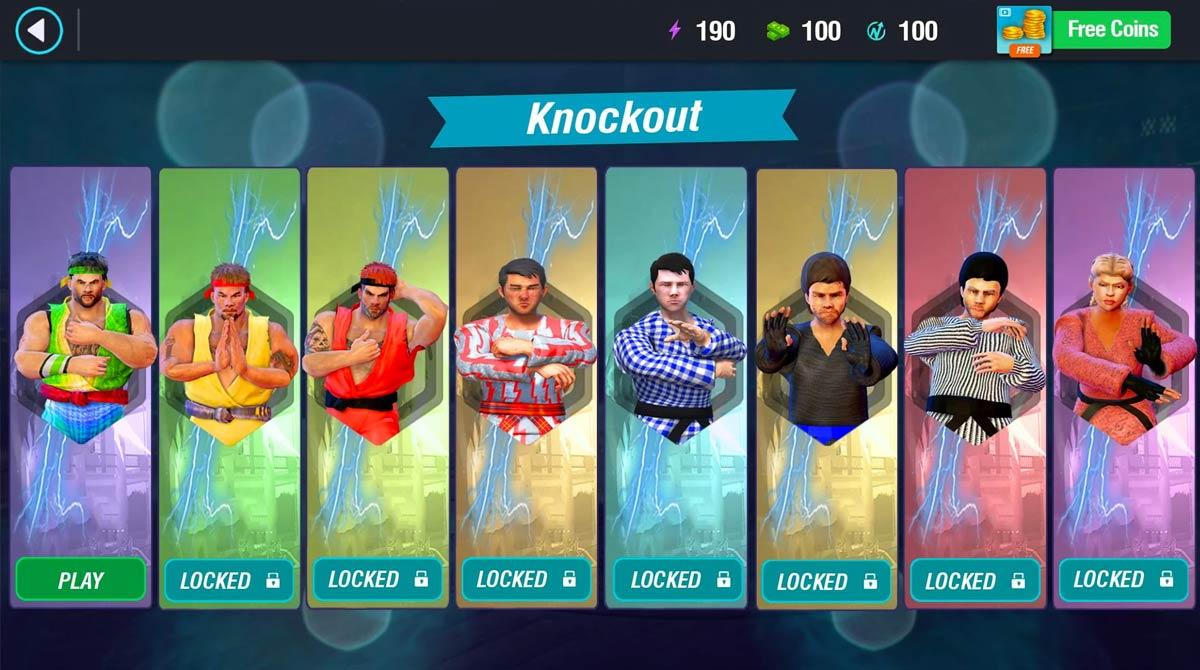 karate king fighter character unlock