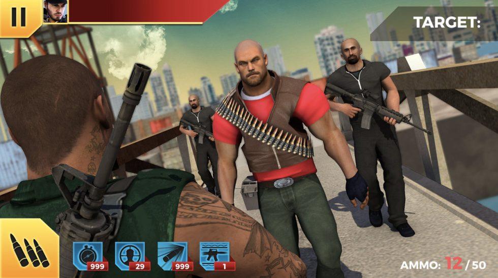 king sniper fps enemy target