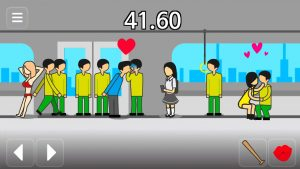 meteor 60 seconds bus kissing