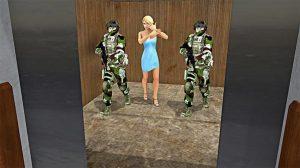 modern action commando elevator