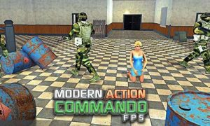 Play Modern Action Commando FPS on PC