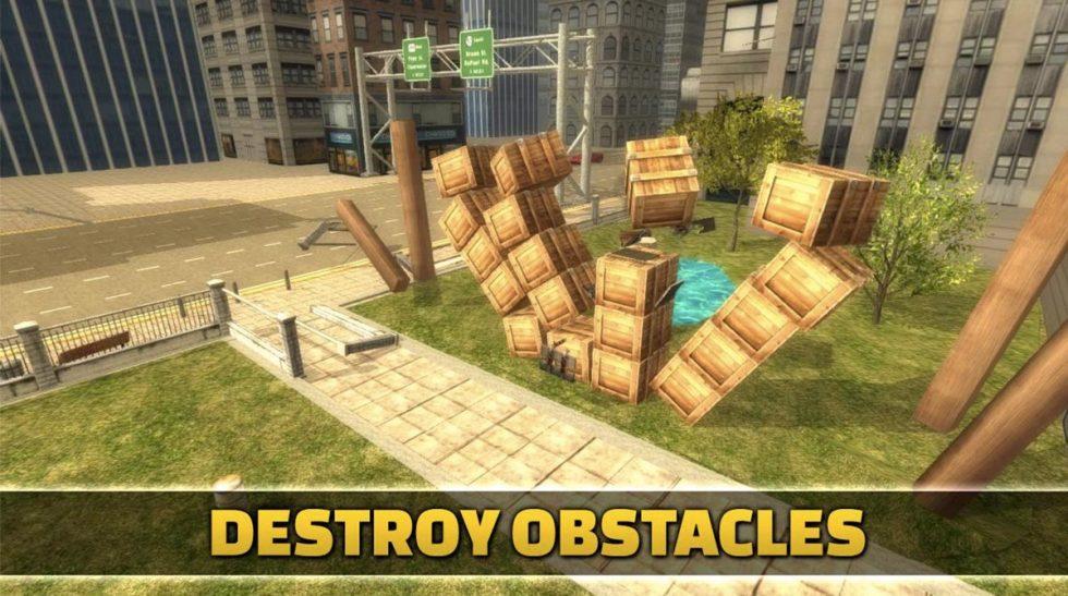 ragdoll cannon blast destroy obstacles