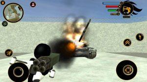 real stickman crime bazooka