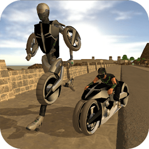 robot moto revenge vehicle