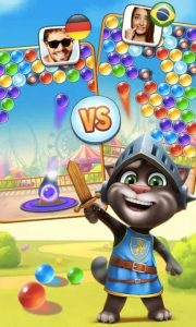 talking tom bubble shooter download PC