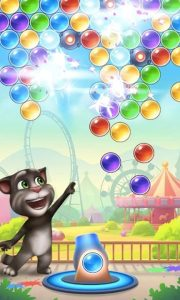 talking tom bubble shooter download PC free