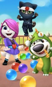 talking tom bubble shooter download free