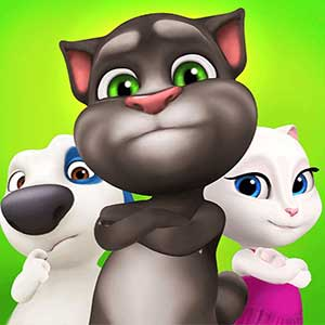 Play Talking Tom Bubble Shooter  on PC