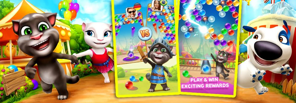 Talking Tom Bubble Shooter  Free PC Download