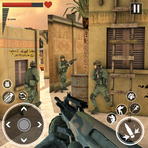 Play World War in Pacific: FPS Shooting Game Survival on PC