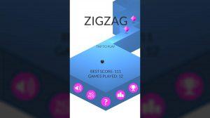 ZigZag Homescreen