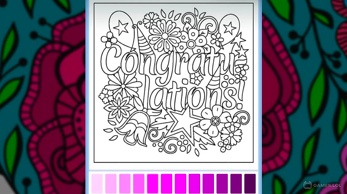 adult coloring download PC