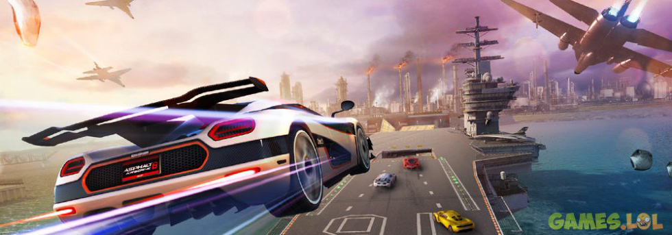 asphalt 8 airborne free online game to play