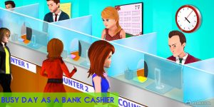 bank cashier manager download PC