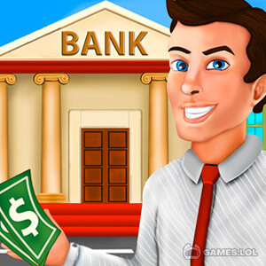Play Bank Cashier Manager – Kids Game on PC