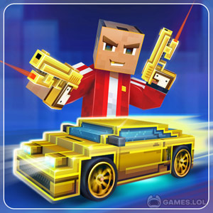 Play Block City Wars Pixel Shooter with Battle Royale on PC