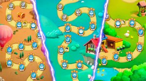 bubble coco map and stages