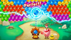 bubble coco mother hen shoots electric ball