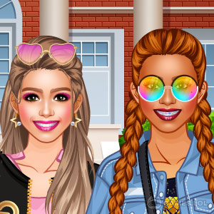 Play College Student Girl Dress Up on PC