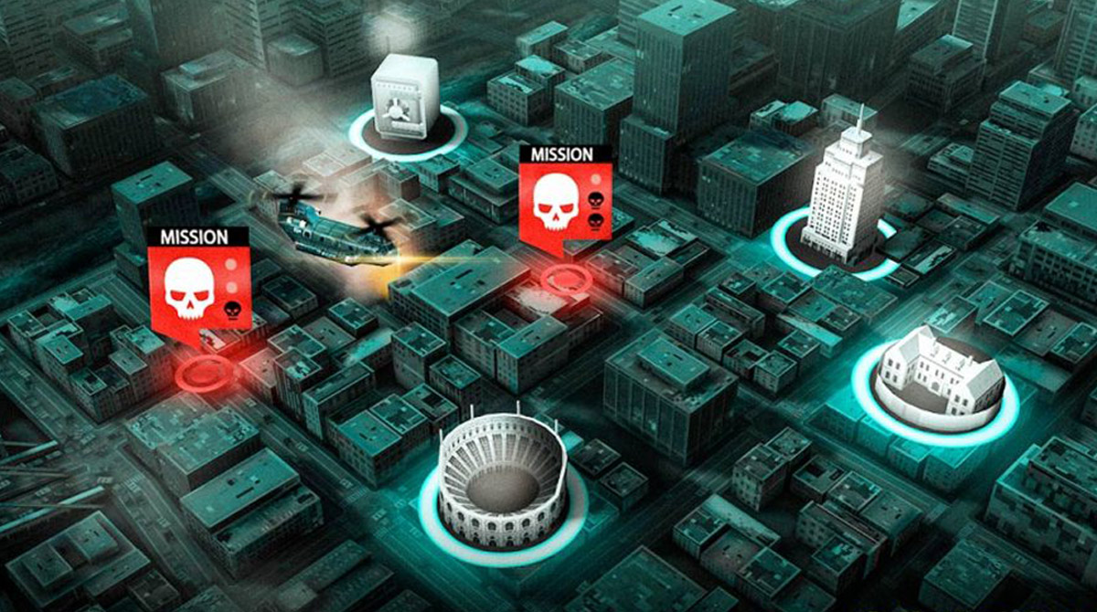dead trigger mission map