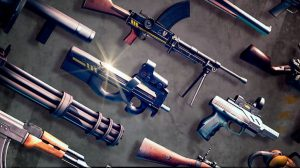 dead trigger weapons