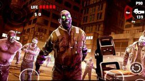 dead trigger zombie attack