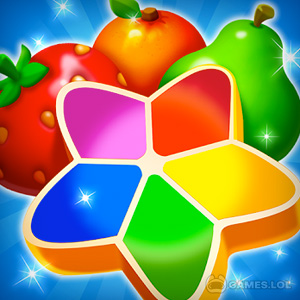 Play Fruits Mania : Fairy rescue on PC