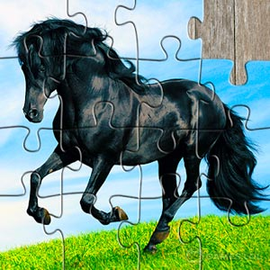 Play Horse Jigsaw Puzzles Game – For Kids & Adults 🐴 on PC