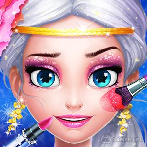 Play Ice Princess Makeup Fever on PC