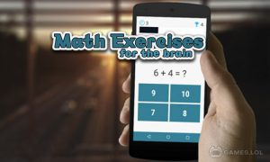 Play Math Exercises for the brain, Puzzles Math Game on PC