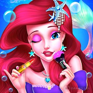 Play Mermaid Princess Makeup – Girl Fashion Salon on PC
