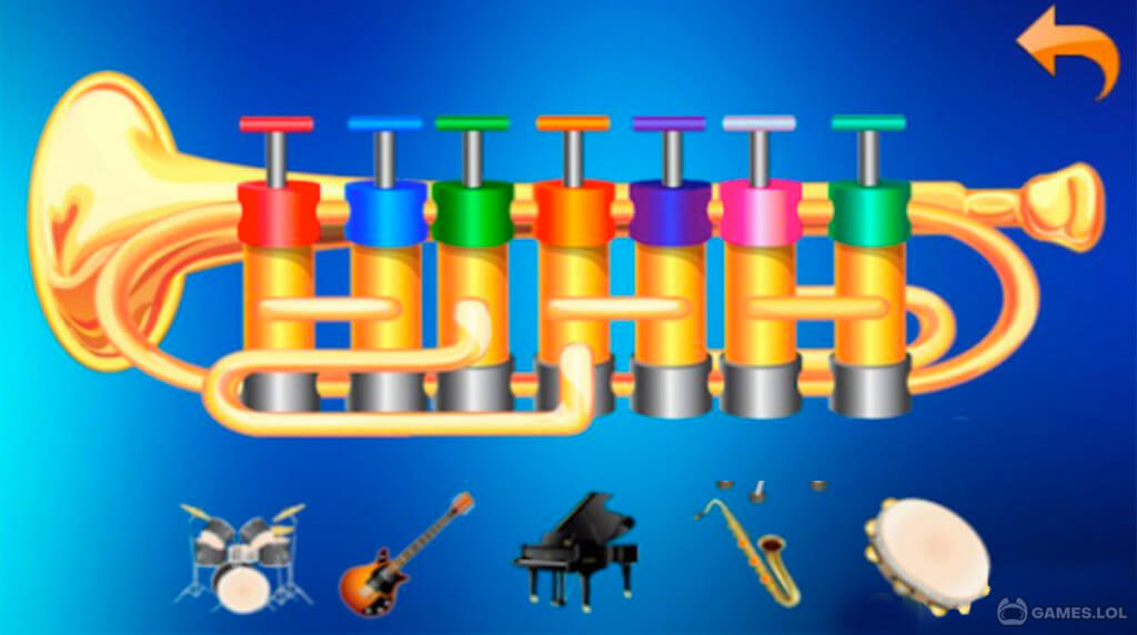musical instrument kids download PC free