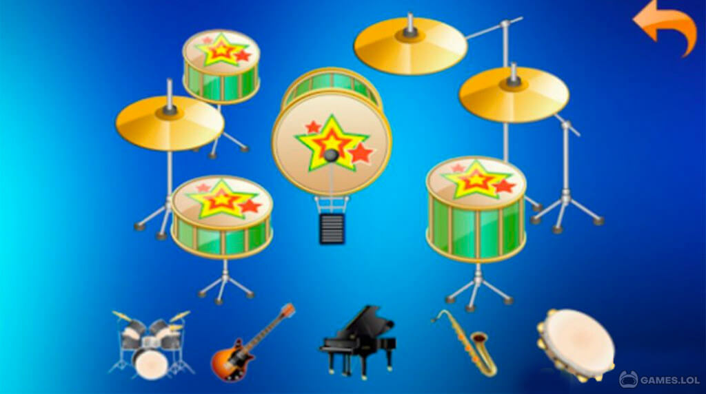 musical instrument kids download free