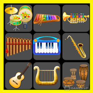 Play Musical Instruments For Kids on PC
