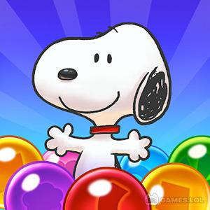 Play Snoopy Pop – Free Match, Blast & Pop Bubble Game on PC