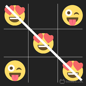 Play Tic Tac Toe For Emoji on PC