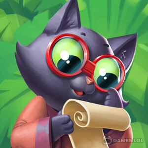 Play Tropicats: Tropical Cat Island Free Match 3 Game on PC