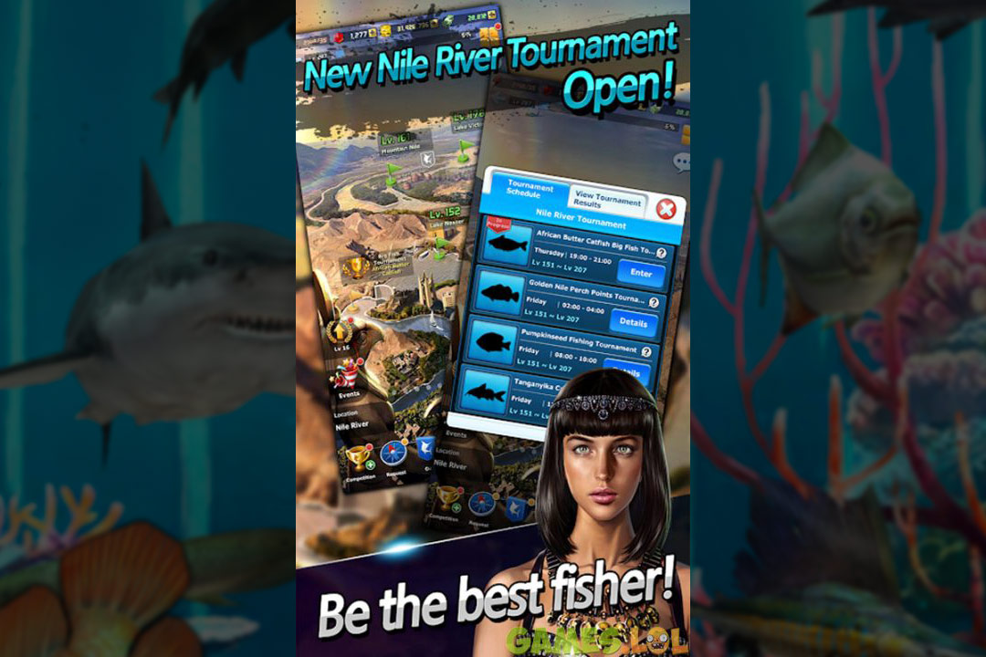 ace fishing wild catch tournaments
