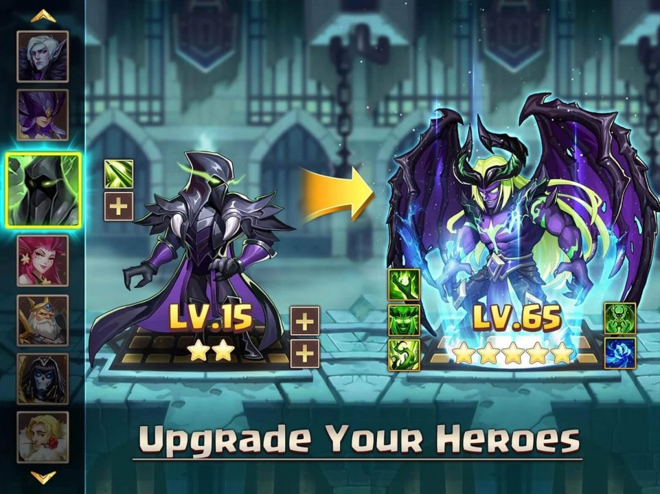 avatar kingdoms upgrade your heroes