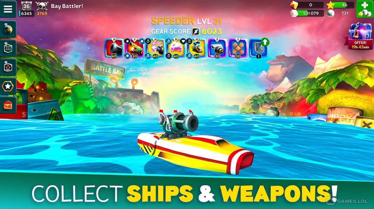 Battle Bay | #1 Free-to-Play Battle Multiplayer Game