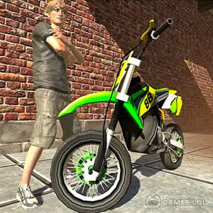 Play Bike Race in the City on PC