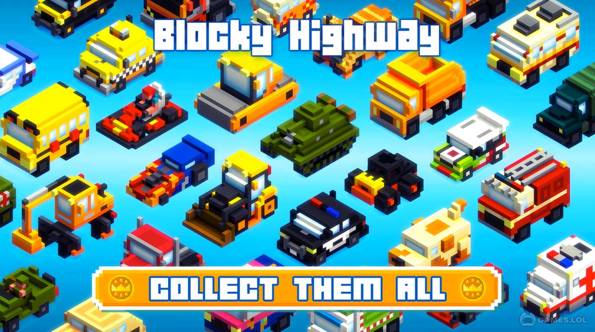 blocky highway download PC free
