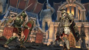 blood glory legend gladiator face off